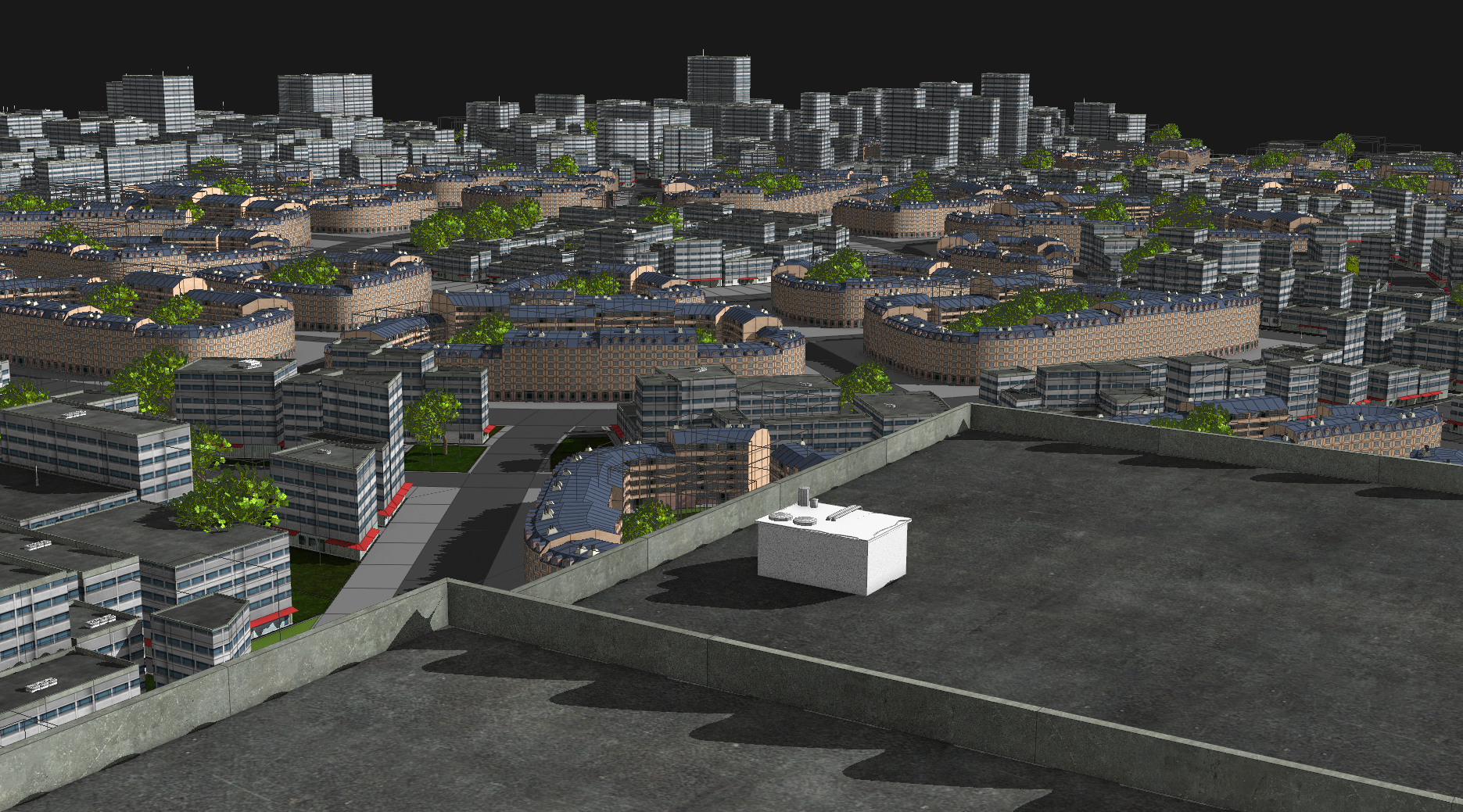 MicroCity - City Generation Toolset for Houdini - MICROBOT